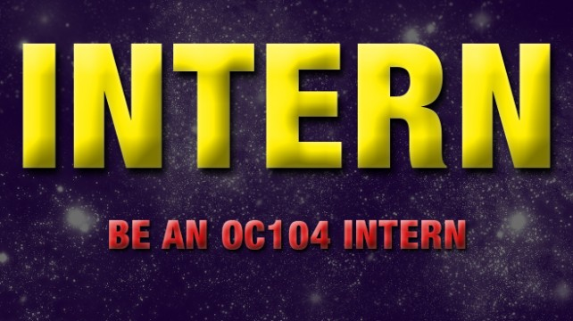 Be An OC104 Intern