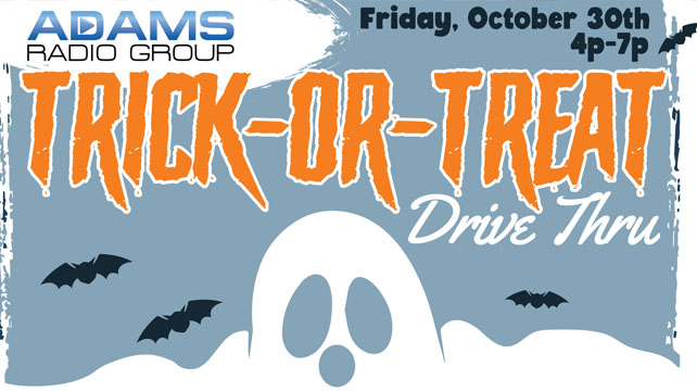 Trick-or-Treat Drive Thru Oct 30th